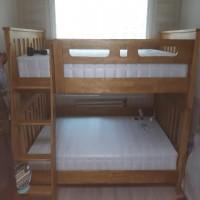 원목 이층 침대