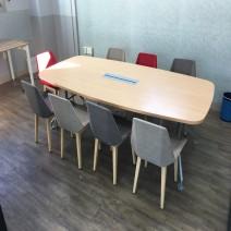 퍼시스 회의 테이블 2400(의자 별도)